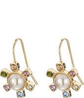 LAUREN Ralph Lauren - Pearls Rock Faceted Stone Flower Drop Earrings