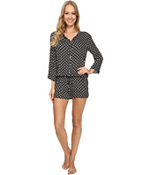 P.J. Salvage - Ikat Dot Challe Romper
