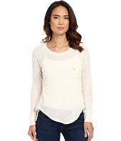 LNA - Long Sleeve Torn Pocket Tee