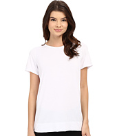 Yummie - Crew Neck Open Back Short Sleeve Cover-Up Tee