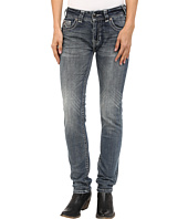 Rock and Roll Cowgirl - Mid-Rise Skinny in Medium Wash W1S5622
