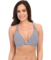 Seafolly - Riviera Coast Stripe F Cup Halter Top