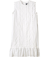 Oscar de la Renta Childrenswear - Cotton Eyelet Sundress (Toddler/Little Kids/Big Kids)