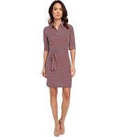 Laundry by Shelli Segal - Movie Star' Matte Jersey Shirt Dress