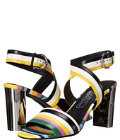 Salvatore Ferragamo - Multicolor Calfskin Sandal With Heel