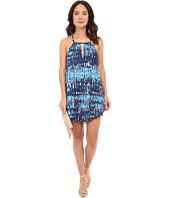 BB Dakota - Celeste Refractions Printed Reverse Crepon Dress