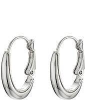 Cole Haan - Small Polished Metal Oval Hoop Earrings