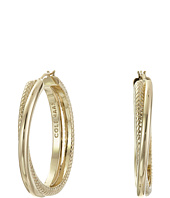 Cole Haan - Crisscross Hoop Earrings