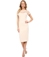 Maggy London - Illusion Top Crepe Dress