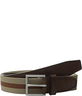 Cole Haan - 35mm Webbing Belt with Leather Tabs and Loop
