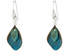 Patina Petal Drop Earrings