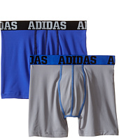 adidas Kids - Sport Performance Climalite 2-Pack Boxer Brief (Big Kids)