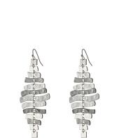 Robert Lee Morris - Zigzag Chandelier Earrings