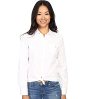 U.S. POLO ASSN. - Solid Single Pocket Long Sleeve Shirt