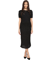 Zac Posen - Silk Crochet Short Sleeve Dress