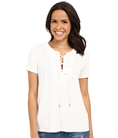 KUT from the Kloth - Valerie Lace-Up Top