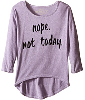The Original Retro Brand Kids - Tri-Blend Pullover Nope Not Today (Big Kids)