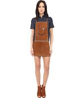 DSQUARED2 - Calf Leather Maylea Leather Saloupette Dress