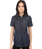 DSQUARED2 - Stretch Denim Hula Short Sleeves Shirt