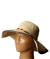 San Diego Hat Company - PBL3063 Sun Brim Hat with Hand Dyed Edge and Beaded Trim