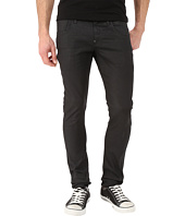 G-Star - Revend Super Slim in Black Pintt Stretch Denim 3D Dark Aged