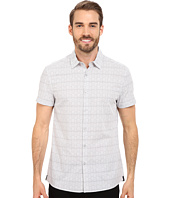 Kenneth Cole Sportswear - Wave Printed Button-Front Shirt
