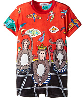 Dolce & Gabbana Kids - 3 Monkeys One-Piece (Infant)
