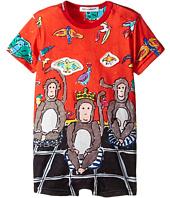Dolce & Gabbana Kids - 3 Monkeys One-Piece (Infant)