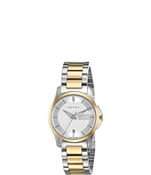 Gucci - G Timeless 27mm Silver Dial Bracelet