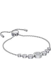 Michael Kors - Cubic Zirconium Logo Adjustable Bracelet