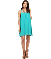 Jack by BB Dakota - Nanna Chiffon Gathered Cross Back Dress