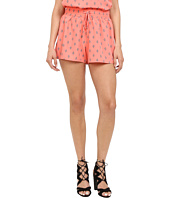 Jack by BB Dakota - Didi Diamonds Printed Crepe de Chine Shorts