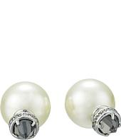 Rebecca Minkoff - Crystal Pearl Back Earrings
