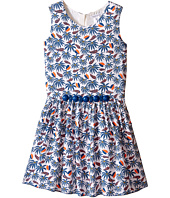 Little Marc Jacobs - Twill Viscose Lined Dress All Over Printed (Little Kids/Big Kids)