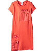 Little Marc Jacobs - Milano Dress with Cabochons (Big Kids)
