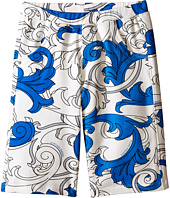 Versace Kids - Shorts with All Over Macrobarocco Print (Big Kids)
