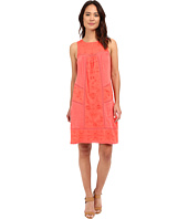 Lucky Brand - Eyelet Mixed Knit Dress