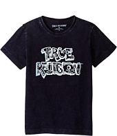 True Religion Kids - Wash Down Tee Shirt (Toddler/Little Kids)
