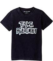 True Religion Kids - Wash Down Tee Shirt (Toddler/Little Kids)