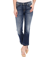 7 For All Mankind - Cropped Boot w/ Released Hem in Bright Indigo Stretch