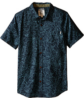 O'Neill Kids - Bingin Short Sleeve Woven Top (Big Kids)