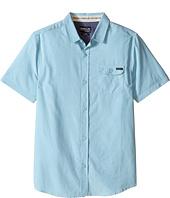 O'Neill Kids - Emporium Solid Short Sleeve Woven Top (Big Kids)