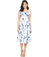 Christin Michaels - Rosalina Polka Dot Dress with Belt