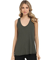 Michael Stars - Amalfi Ribbed Stripe Sleeveless Tank Top