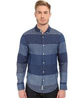 Lucky Brand - Blanket Stripe Linen Shirt