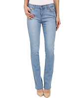 Liverpool - Simone Contour 4-Way Stretch Denim Straight Leg Jeans in Lyra Light Indigo Stone