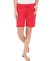 Liverpool - Corine Colored Denim Shorts in Tomato Puree Red