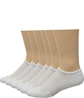 HUE - Air Cushion 6-Pair Pack No Show 3D Sole
