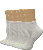 HUE - Air Cushion 6-Pair Pack Quarter Top 3D Sole