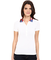 Lacoste - Short Sleeve Slim Fit Nations Polo Shirt